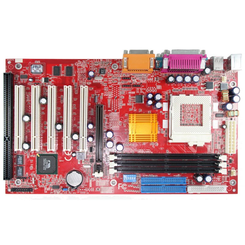 Wholesale Motherboard ISA Slot Motherboard VIA 694 Chipset 370 Socket Motherboard 5 PCI Slots 1 AGP Slot