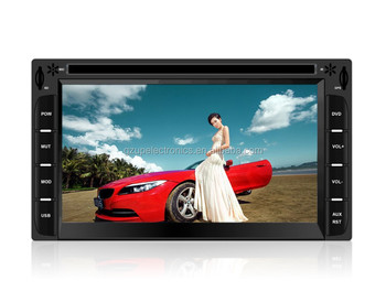 universal 2 din car dvd player gps