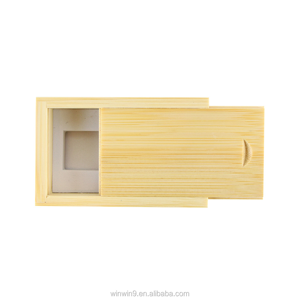 Wholesale Custom Printing Wooden Usb Flash Memory with Packaging  Gift Box