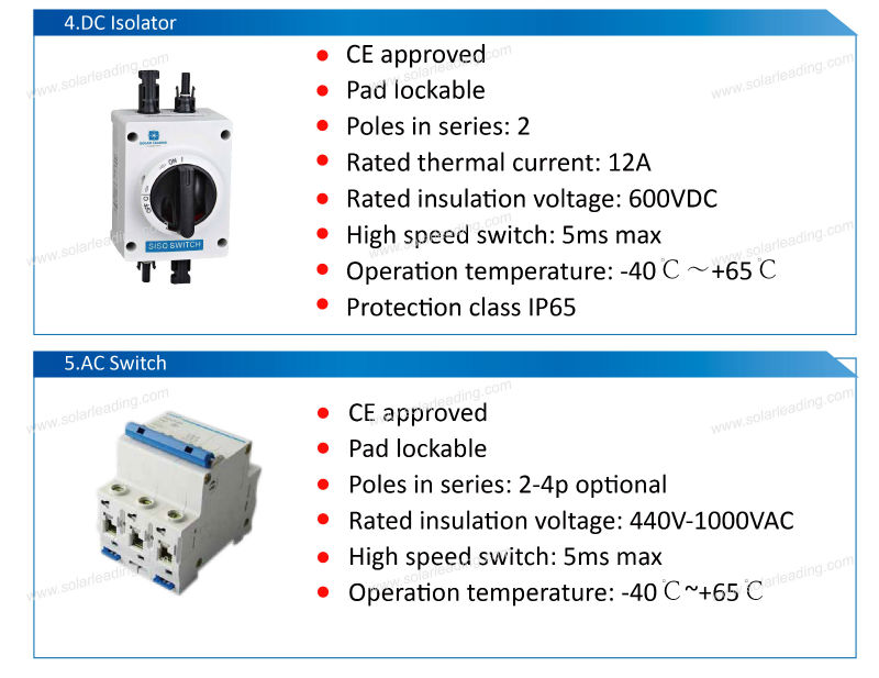 Home Use 5kw China Solar Systems Include Solar Panel Price 260w ...