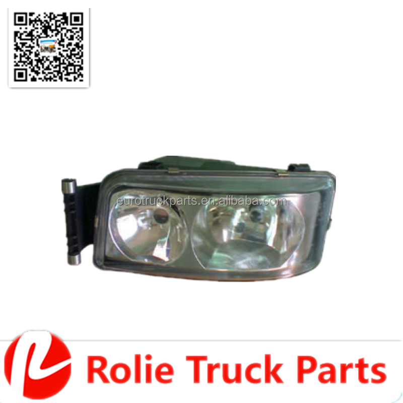 oem 81251016421 81251016449 MAN TGA SERIES Heavy duty truck body parts auto body parts Rubber Left Head Lamp on sale