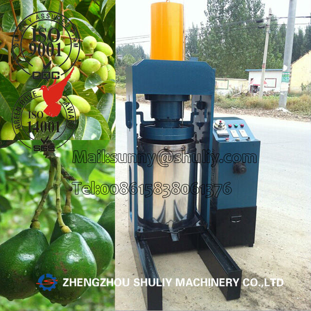 Hydraulic Avocado Oil Press Machine Cold Pressed Avocado