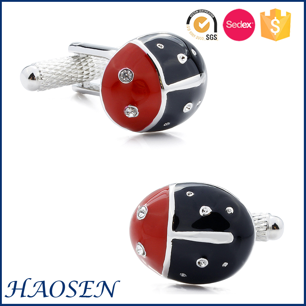 Fashionable New Design Beetle Make Custom Cufflinks