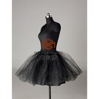 39e42b23fef Goedkope Sexy Zwarte Korte Petticoats Rok HMY-PPT014 Tutu Rok Slips  Crinoline Petticoats Voor Meisjes