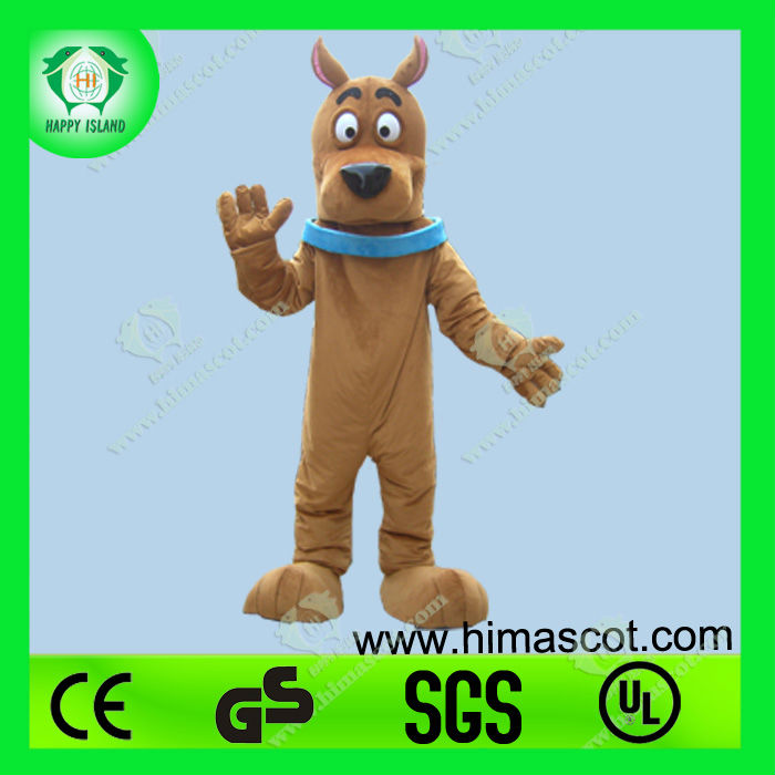2013 New cute scooby doo costume