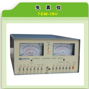 Tdm-1911 New Automatic Audio/signal Distortion Meter - Buy Distortion Meter  Product on Alibaba com