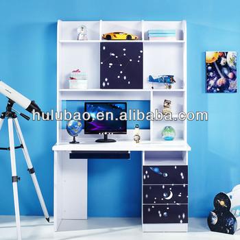 902 bambini ragazzi moderno studio scrivania con mobiletto for Mobile libreria per bambini