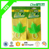 Good quality Long last scent time Hanging PVC car air freshener