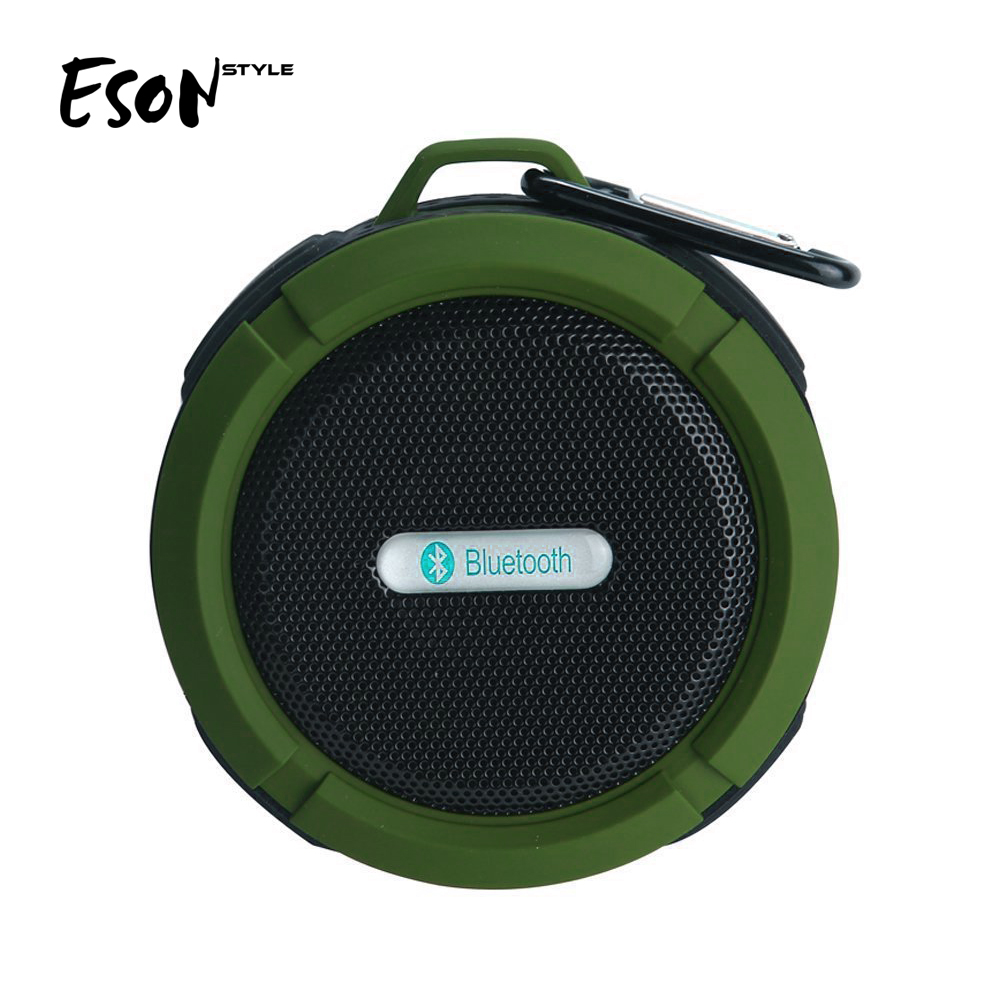 Eson Gaya Mandi pengisap music player mini stereo kotak suara speaker tahan air bluetooth speaker nirkabel inovatif teknologi