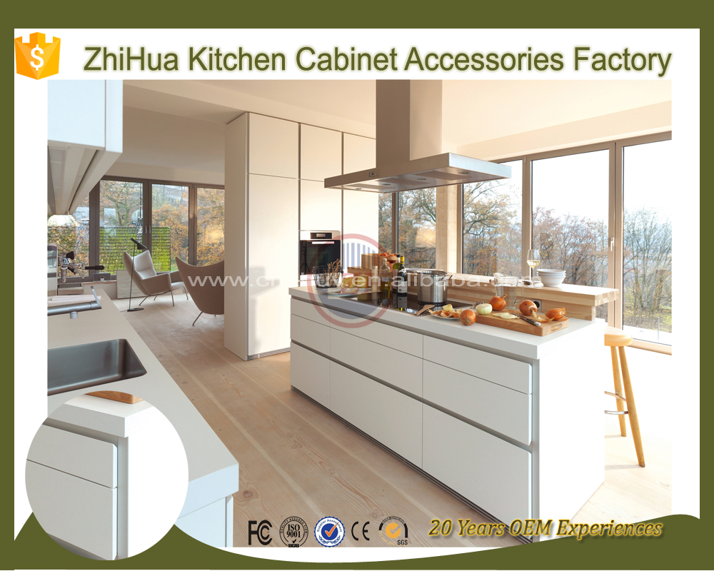 Guangzhou zhihua kitchen cabinet accessories factory - Handleless Kitchen Cabinets Handleless Kitchen Cabinets Suppliers And Manufacturers At Alibaba Com