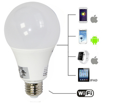 House Office smart 3w remote controller ce rohs led light bulb