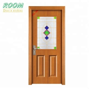 Kerala steel wood door frame design in bangladesh