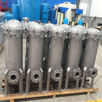 Industrial Water Filter SS Bag Filter Housing