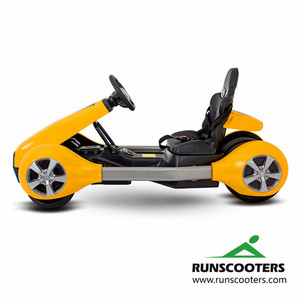 RUNSCOOTERS Christmas gift kids 4 wheels electric go kart
