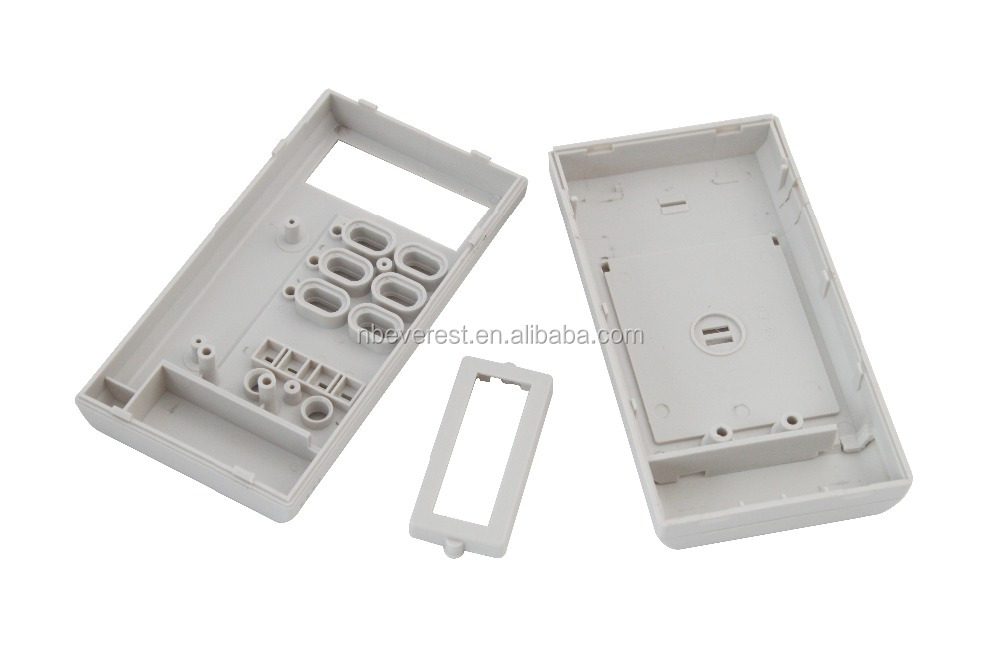 China supplier cheap plastic terminal box, handheld electronic enclosures with key holes
