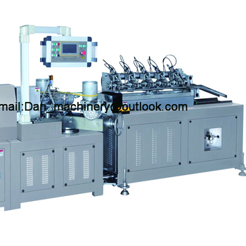 Beverage drinking paper straw making machine