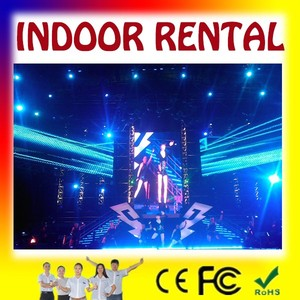 top sale in USA rental led display/free maintain rental indoor screen/electron rental indoor led vedio wall