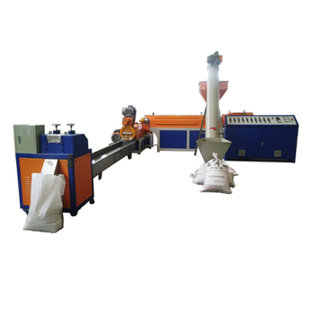 Union pp pe film plastic recycling machine granulator prijs