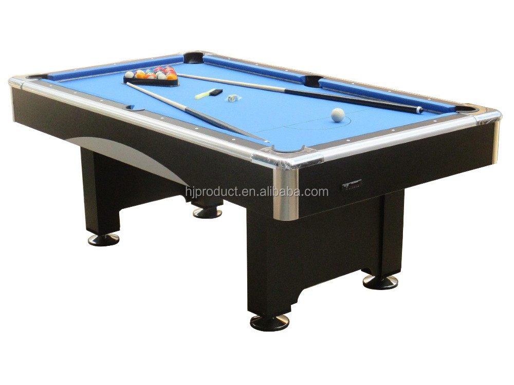 Fancy 6ft 7ft MDF Family Use Billiard Pool Table With LED Light And Mp3  Player