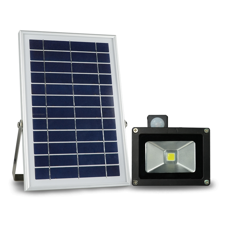 N500H 10 W spotlight solar power led garden flood lamp