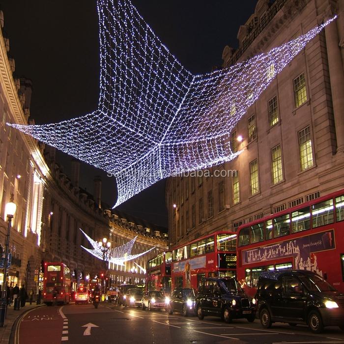 Outdoor Christmas Street Light Decoration Holiday Decoration Motif ...