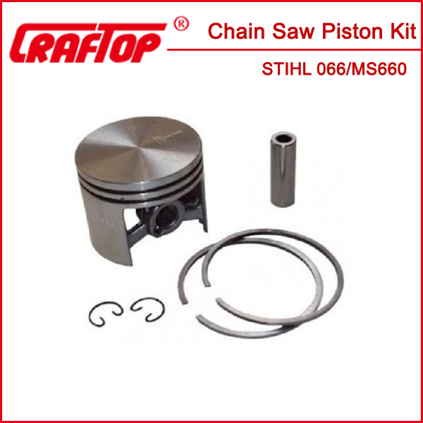 ms660 piston 54mm with piston ring