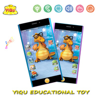 English Educational learning toy Music Baby Learning Machine baby Learning Mobile Phone Studying machine for kids