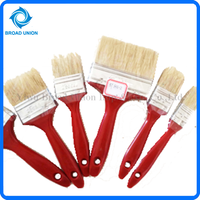 "1-5"" Hot Sale Plastic Handle Wall Paint Brush Cheap Paint Brush"