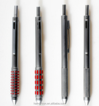 4 in1 multifunction color metal ball pen with mechanical & pencil