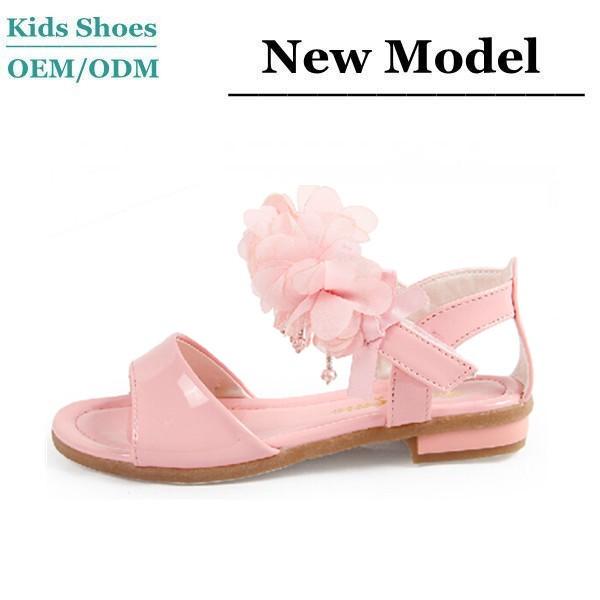J-s0020 Child High Heel Sandals Comfortable Leather Simple Natural Summer  Kids Flower Girl Shoes - Buy Kids Flower Girl Shoes,Oem Design Leather