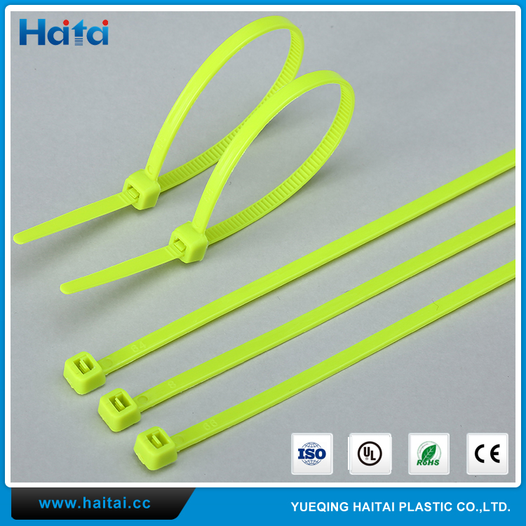 Haitai Heat Resisting Banding Internal Connecting Wires Superior Materials Nylon Cable Tie