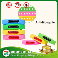 Waterproof Natural Essential Oil outdoor anti Mosquito and Insect Repellent Adjustable Silicone Bracelet Wristband