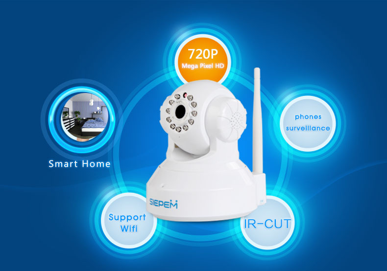 S6202Y-WRA Wireless IP Camera Wifi 3.6mm IR Night Vision P2P Security Camera With Phone Remote monitoring support