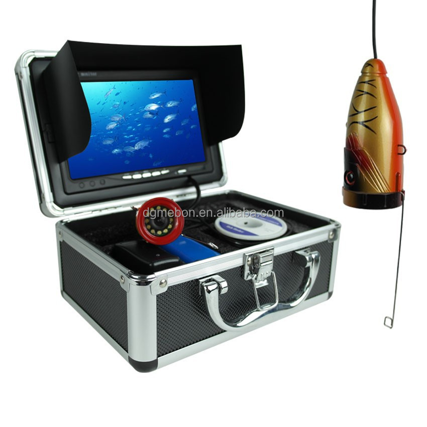 "30M 7"" TFT LCD Video Camera System Fish Finder HD 700TV Lines Underwater Camera 7100"