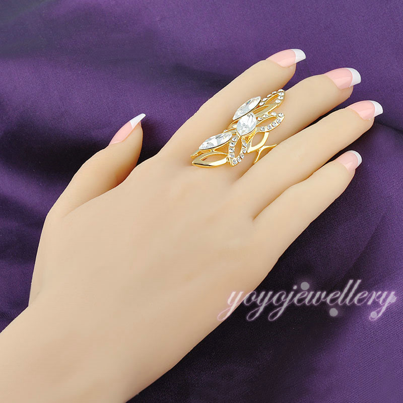 New Launched Middle Finger Long Gold Plated Ring Buy Gold Plated