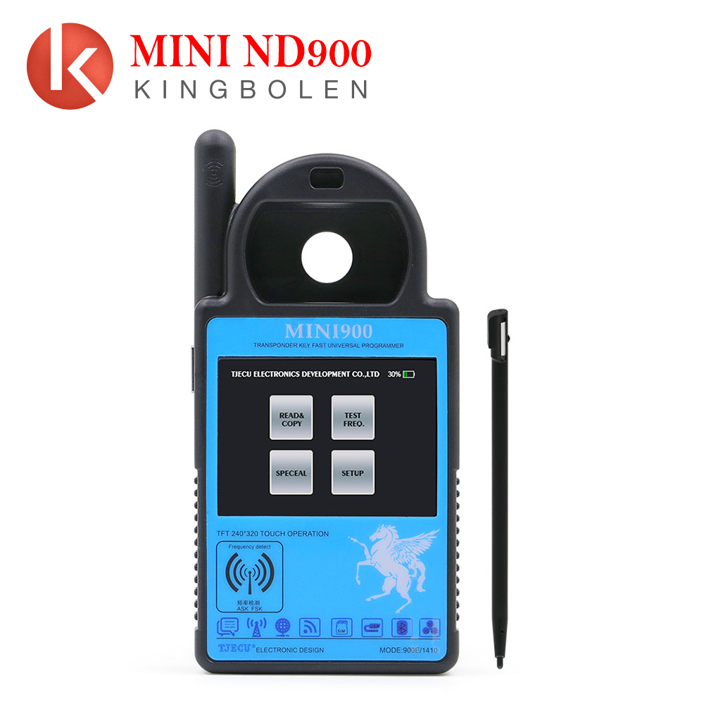 Can recognize locked ID48 and can unlock ID48 ND900 Mini audio mp3 decoder car