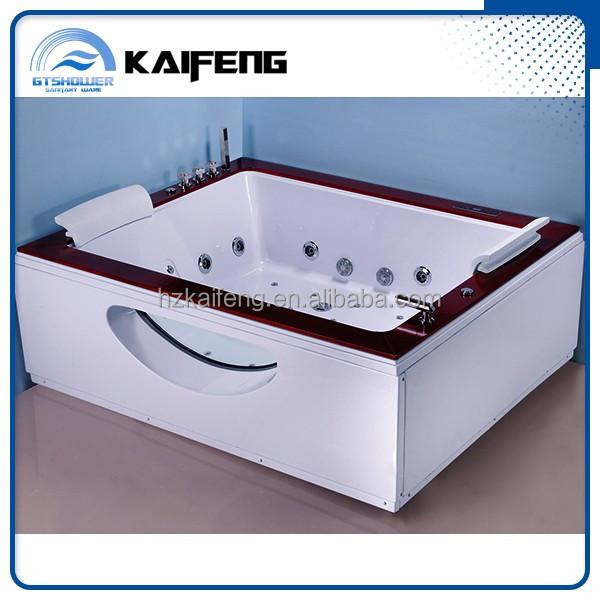 double verre baignoire remous pas cher baignoire bains th rapeutiques id de produit. Black Bedroom Furniture Sets. Home Design Ideas