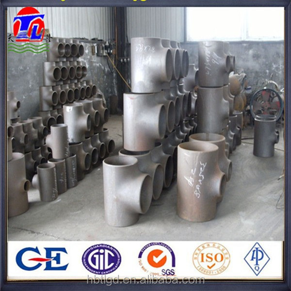 direct manufacturer astm a234 wpb grade butt welded ansi b16.9 carbon steel equal tee sch40 pipe fitting tee
