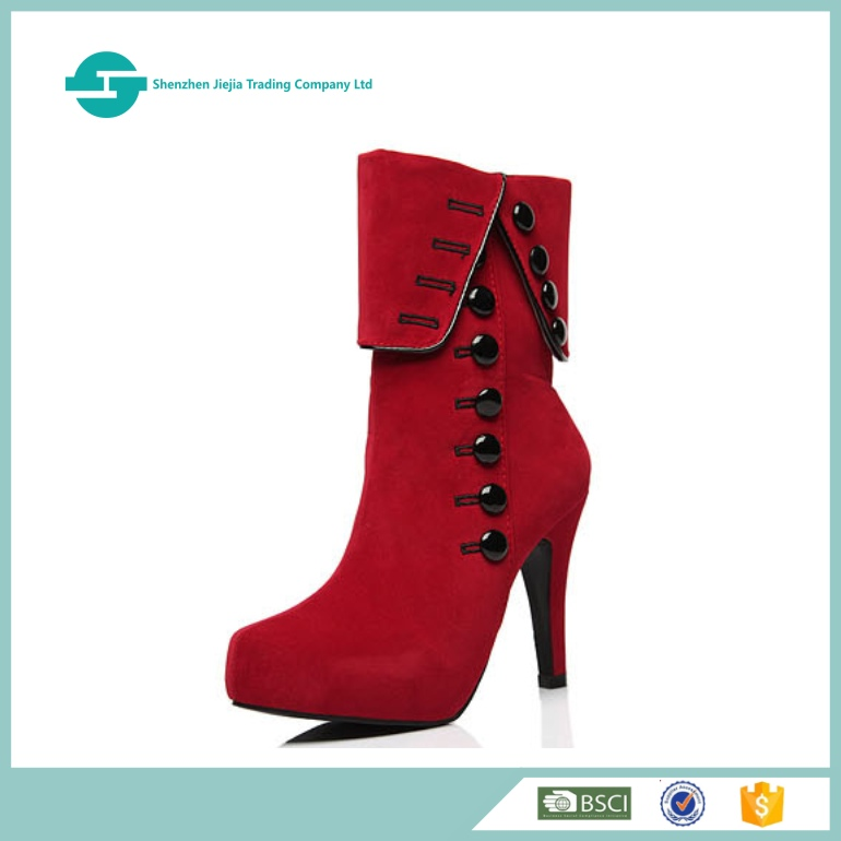 China factory lady boot wholesale 2017 hot style fashing high heel boot