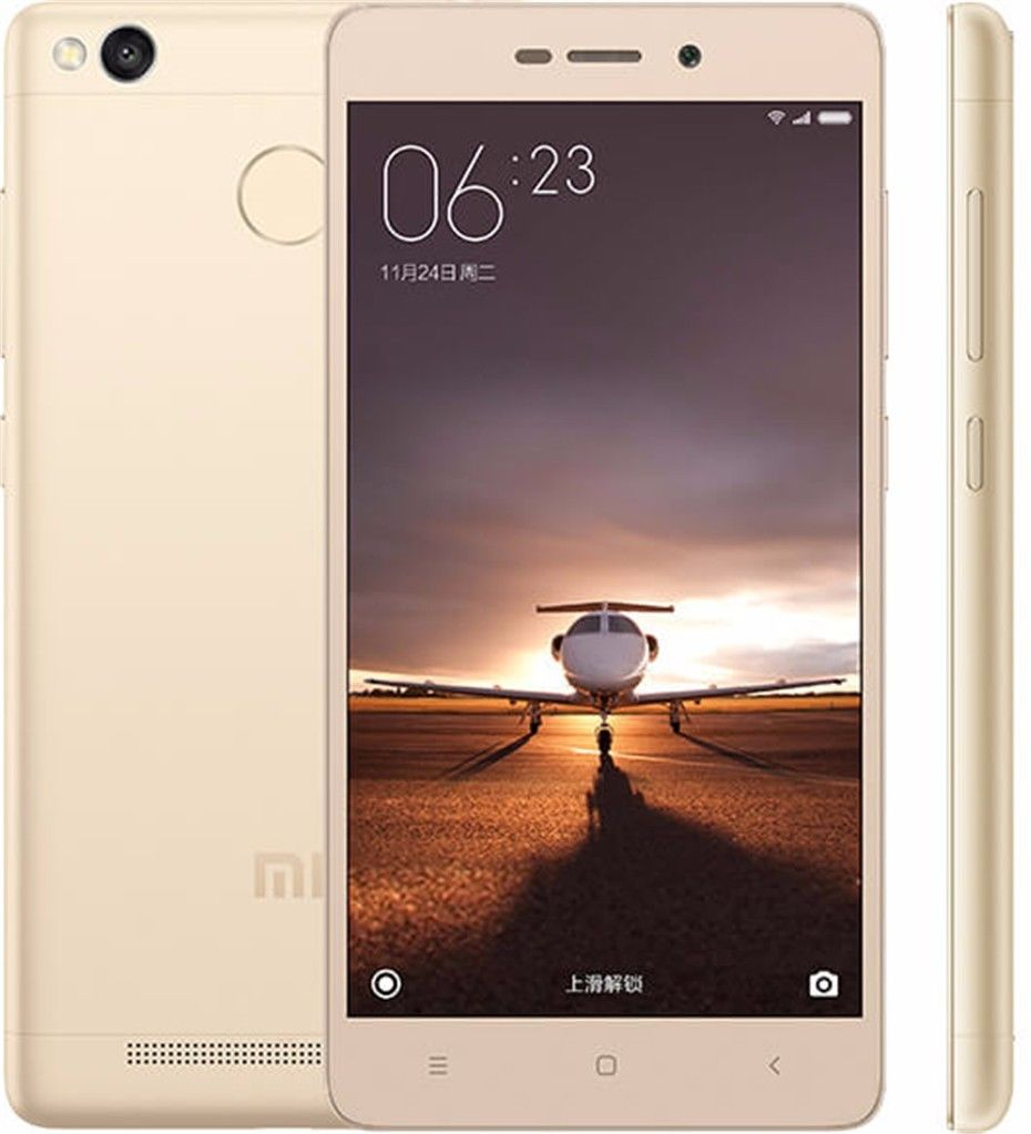 Best Selling Products in Asia 2016 Fingerprint ID Snapdragon 430 4G LTE Octa Core 13MP Camera Redmi 3S 32GB Mobile Phone
