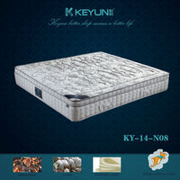 Sleep well spring mattress memory foam matress bed KY-14-N08