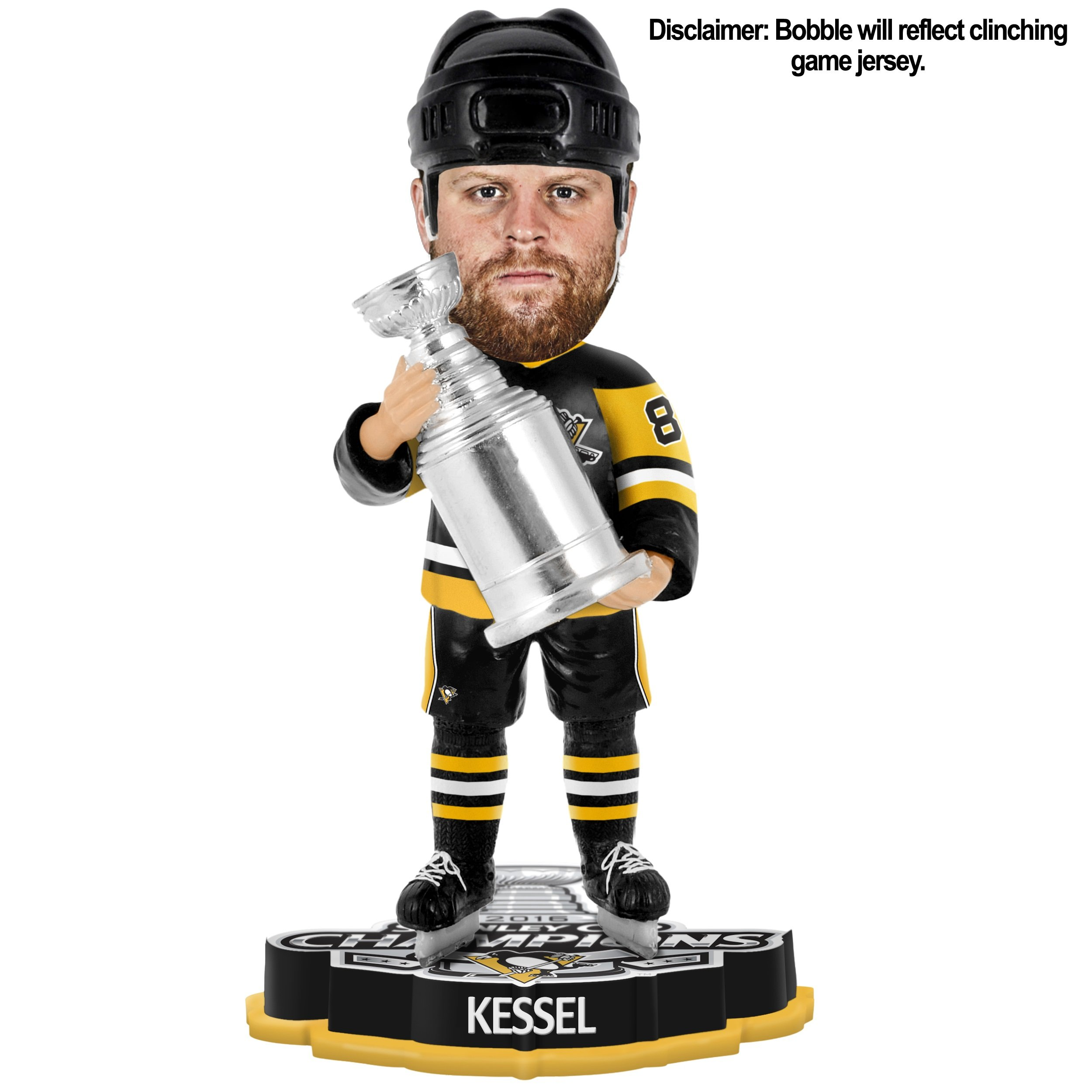Pittsburgh Penguins Phil Kessel 2016 Stanley Cup Champions Bobblehead
