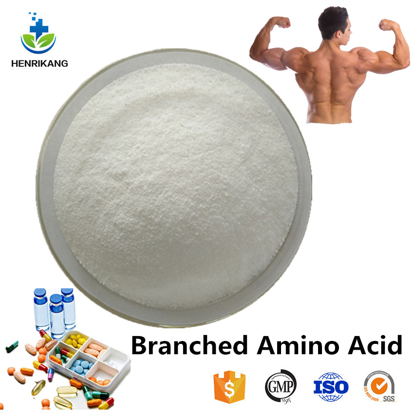 Nutritional Supplement Branched Amino Acid BCAA powder with CAS 5589-96-8