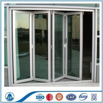 Aluminum glass accordion doors bathroom design buy - Puertas de acordeon ...