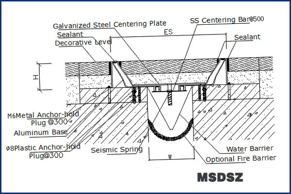 High Quality Low Price Expansion Joint Spacing For