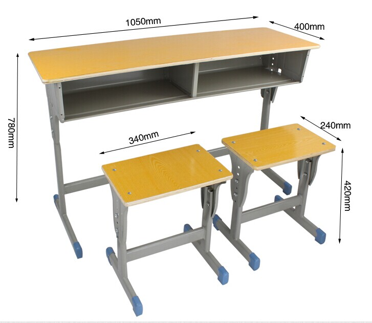 Mk Combo School Desk And Chair School Desk With Attached