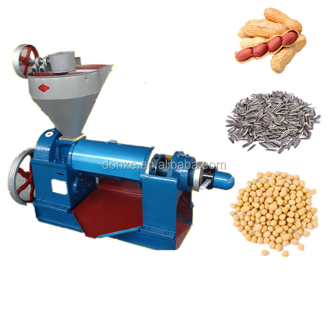 Commercial peanut soybean sunflower plant oil extraction machine