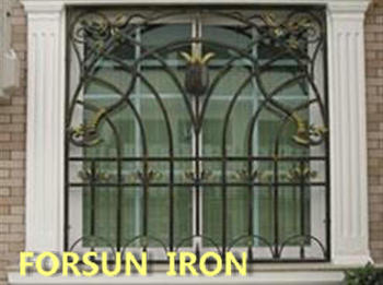 Simple Iron Windows Grills Design Modern House Sliding Window