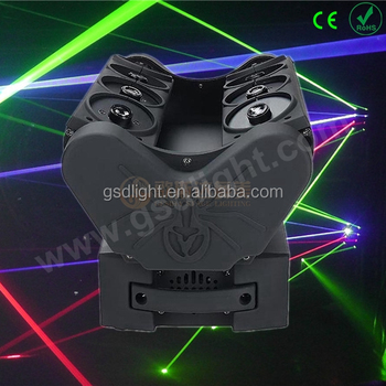gsd stage professional new design spider laser disco club moving