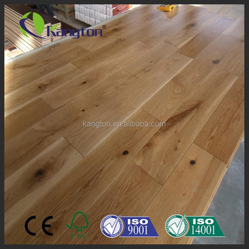 100 Real Solid Hard Wood Flooring With Smooth And Handscraped And